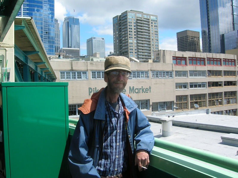 Dan at Pike's Place Market